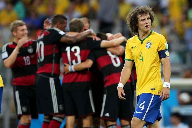 Brasil e Alemenha em 2014 - 7 x1